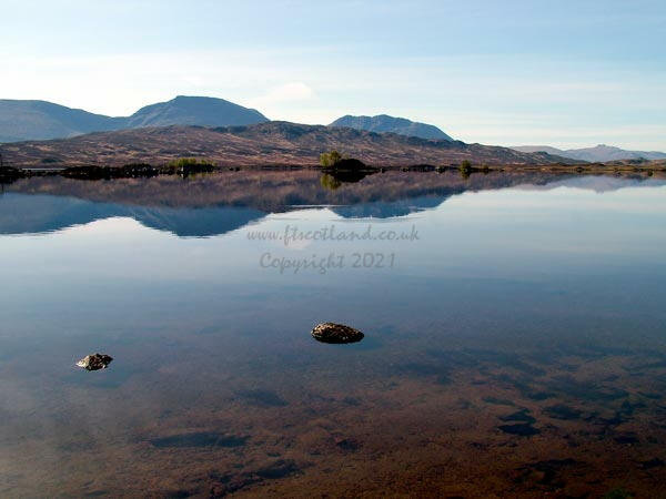 It Was Easy To See Rises In The Flat Calm On Loch Ba