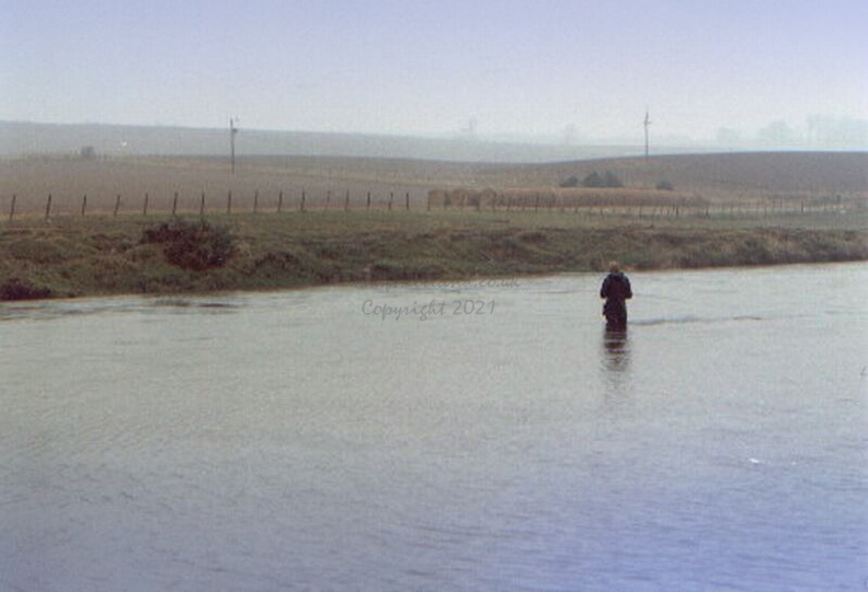 Wading in the River Earn