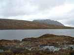 Lochan Feith Mhic'-Illean And Ben Dearg Mor In The Clouds