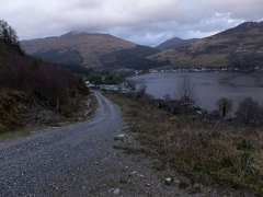 Road To Hill Loch