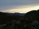The Setting Sun Over Assynt