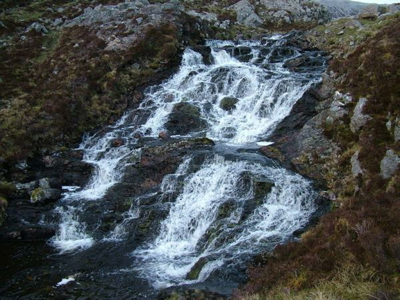 The Waterfall Out Of The Lower Loch