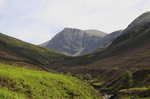 Looking Up The Path With Beinn Dearg On The Horizon