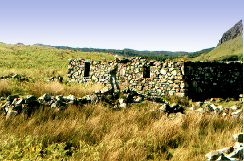 An Old Settlement Above Loch A'Phearson