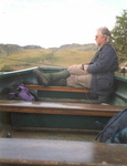 In the boat on Loch A`Phearson