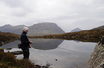 Me Fishing The Loch Below The Camp Site
