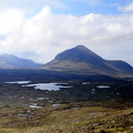 Torridon Panorama from  Coire Mhic Fhearchair