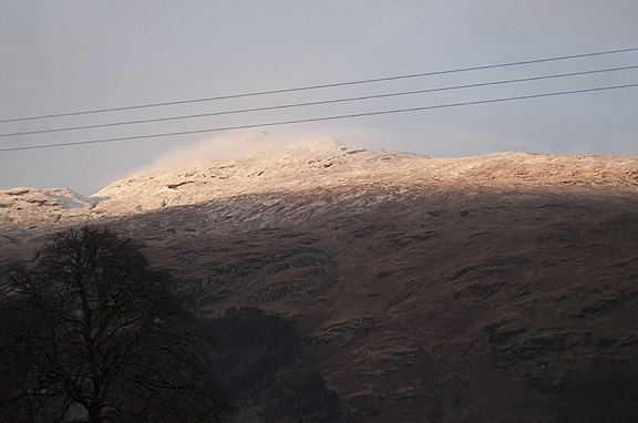 Snow on Ben Donich