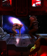 Creech Fight in Space