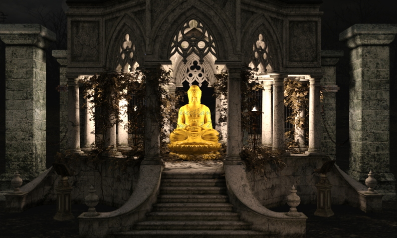 Buddha in Temple