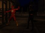 Flash and Batgirl