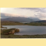 Picture of Cape Wrath Hotel looking across Loch Lanish linking to a gallery of Cape Wrath pictures 24