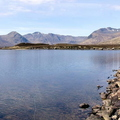 Panorama Of Loch Ba Looking West
