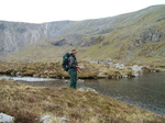 Small Loch At The End Of Lochan A' Choire Ghuirm