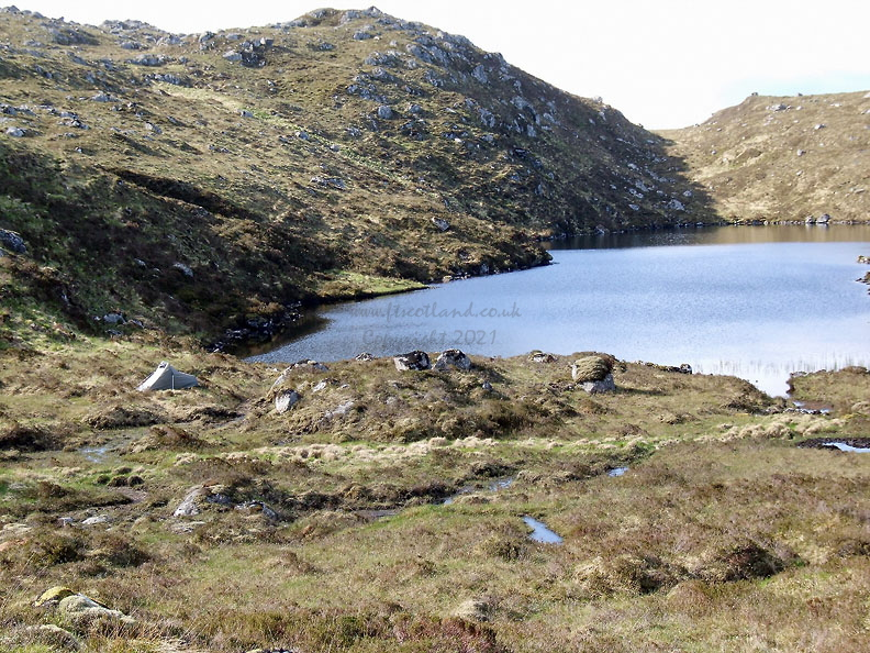 My camp at Lochan Sligeanach