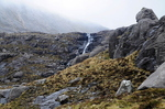 The Waterfall Coming From Coire Mhic Fhearchair