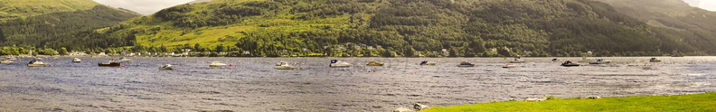 Boats on Loch Goil